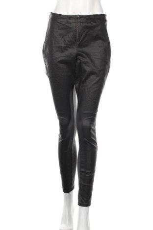 Γυναικείο παντελόνι Zizzi, Μέγεθος XL, Χρώμα Μαύρο, 75% βισκόζη, 21% πολυαμίδη, 4% ελαστάνη, Τιμή 14,03€
