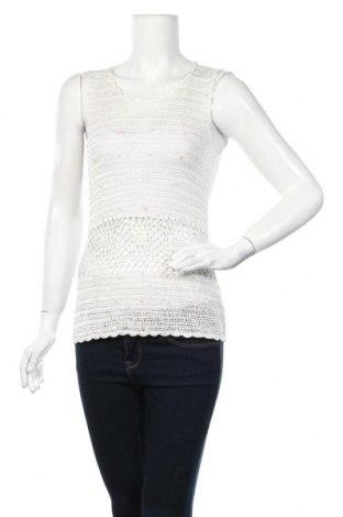 Γυναικείο αμάνικο μπλουζάκι Apart, Μέγεθος L, Χρώμα Λευκό, Βισκόζη, Τιμή 25,33€