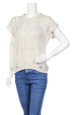 Дамски пуловер, Размер XL, Цвят Бежов, 60% памук, 40% акрил, Цена 5,51лв.