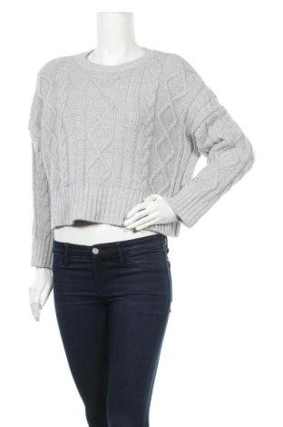 Дамски пуловер, Размер L, Цвят Сив, Цена 27,30лв.