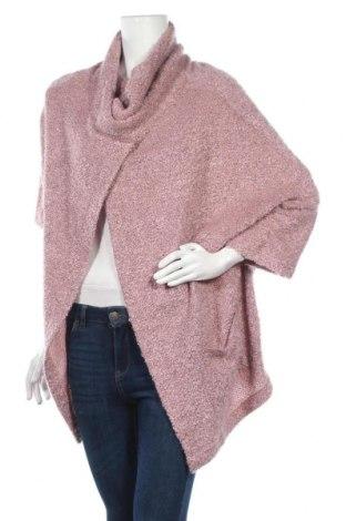Дамски пуловер, Размер M, Цвят Розов, 70% памук, 20% вискоза, 10% полиестер, Цена 28,35лв.