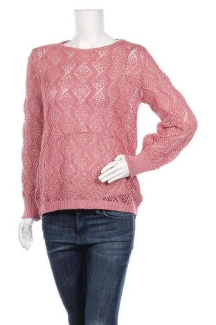 Дамски пуловер, Размер M, Цвят Розов, Цена 6,76лв.