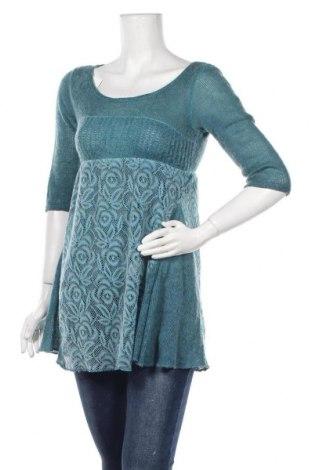 Дамски пуловер, Размер S, Цвят Син, Цена 6,30лв.