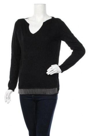 Дамски пуловер, Размер M, Цвят Черен, 50% полиамид, 45% акрил, 5% вълна, Цена 17,01лв.