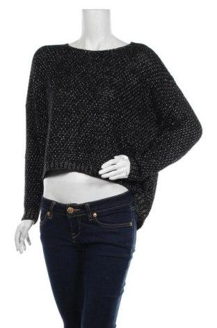 Дамски пуловер, Размер M, Цвят Черен, Цена 10,40лв.