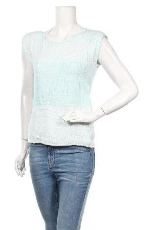 Дамски пуловер, Размер M, Цвят Син, 65% акрил, 35% вискоза, Цена 6,56лв.