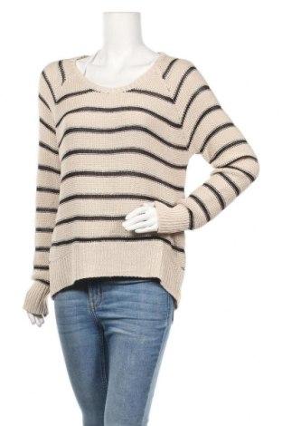 Дамски пуловер, Размер M, Цвят Бежов, Цена 13,23лв.