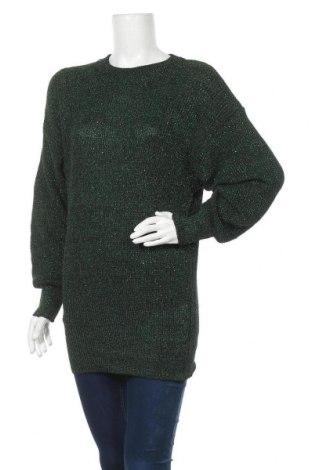 Дамски пуловер, Размер L, Цвят Зелен, Цена 11,81лв.