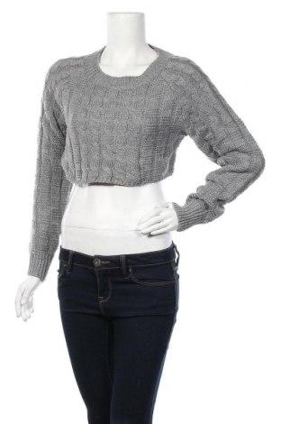 Дамски пуловер, Размер M, Цвят Сив, 70% полиестер, 30% акрил, Цена 9,98лв.