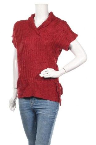 Γυναικείο πουλόβερ, Μέγεθος M, Χρώμα Κόκκινο, Ακρυλικό, Τιμή 5,46€