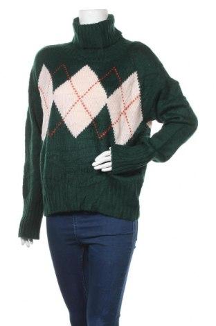 Γυναικείο πουλόβερ, Μέγεθος L, Χρώμα Πράσινο, 67%ακρυλικό, 33% πολυαμίδη, Τιμή 14,19€