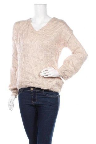 Γυναικείο πουλόβερ, Μέγεθος M, Χρώμα  Μπέζ, Τιμή 17,28€