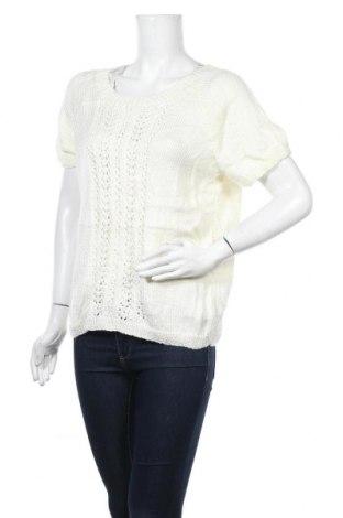 Дамски пуловер, Размер M, Цвят Бял, Цена 5,51лв.