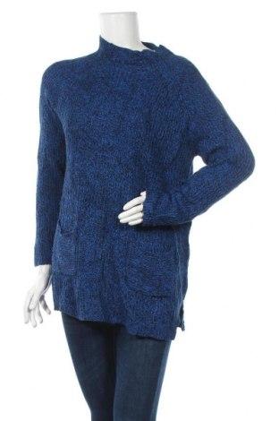 Дамски пуловер, Размер XL, Цвят Син, 60% памук, 40% акрил, Цена 8,09лв.