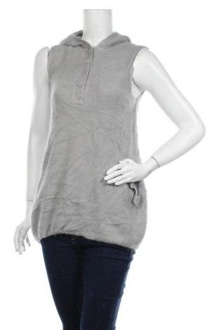 Дамски пуловер, Размер L, Цвят Сив, 50% акрил, 40% ангора, 10% памук, Цена 5,46лв.