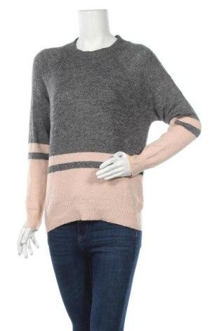 Дамски пуловер, Размер S, Цвят Сив, 76% акрил, 12% полиамид, 3% еластан, Цена 11,34лв.