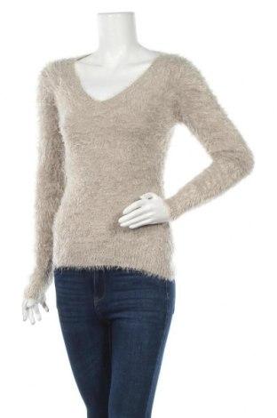 Дамски пуловер, Размер S, Цвят Бежов, Цена 8,82лв.