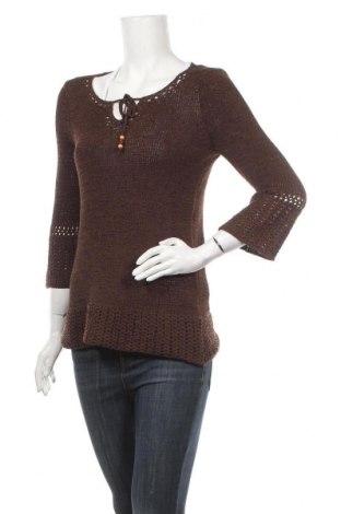Γυναικείο πουλόβερ, Μέγεθος M, Χρώμα Καφέ, 60% πολυεστέρας, 40%ακρυλικό, Τιμή 13,58€