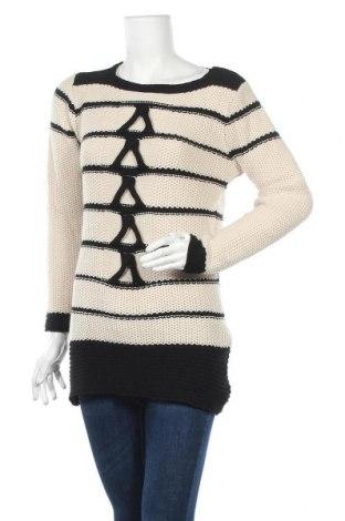 Дамски пуловер, Размер S, Цвят Бежов, Акрил, Цена 7,35лв.