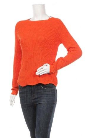 Дамски пуловер, Размер S, Цвят Оранжев, Памук, Цена 17,64лв.