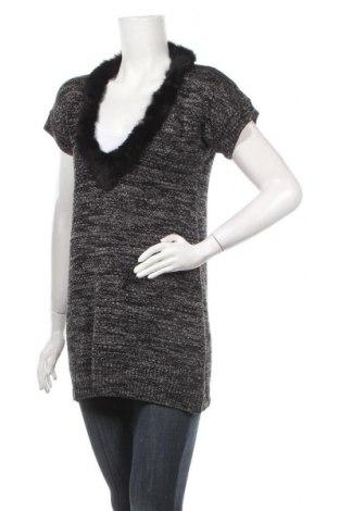 Дамски пуловер, Размер S, Цвят Сив, Цена 7,49лв.