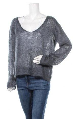 Дамски пуловер, Размер L, Цвят Сив, Цена 23,10лв.