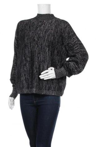 Дамски пуловер & Other Stories, Размер XS, Цвят Черен, 44% вълна, 37% памук, 12% полиестер, 8% метални нишки, Цена 140,81лв.