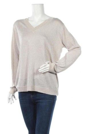 Дамски пуловер 27 Quai De Seine, Размер L, Цвят Бежов, Цена 12,29лв.