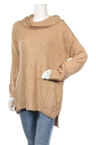 Дамски пуловер 89th & Madison, Размер XL, Цвят Бежов, 100% акрил, Цена 7,35лв.