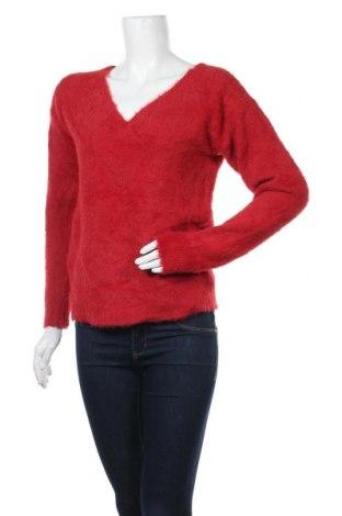 Дамски пуловер A New Day, Размер M, Цвят Червен, 72% полиамид, 28% акрил, Цена 30,92лв.