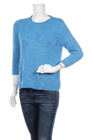 Дамски пуловер Alia, Размер S, Цвят Син, 62% акрил, 38% полиамид, Цена 12,08лв.
