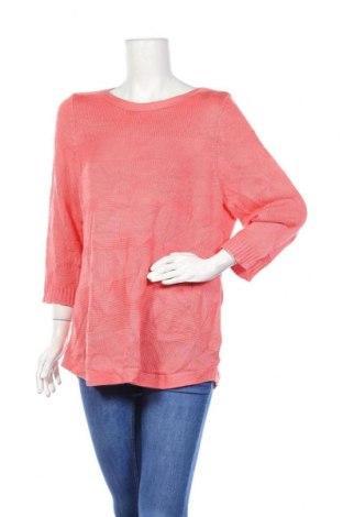 Дамски пуловер Alia, Размер L, Цвят Розов, Акрил, Цена 12,18лв.