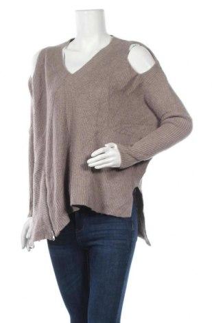 Γυναικείο πουλόβερ AllSaints, Μέγεθος S, Χρώμα Καφέ, 45% μαλλί, 38% πολυαμίδη, 17% μαλλί από αλπακά, Τιμή 25,46€
