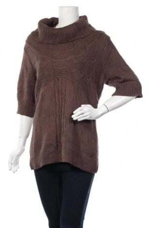 Дамски пуловер Apt.9, Размер XL, Цвят Кафяв, 60% памук, 40% акрил, Цена 22,94лв.
