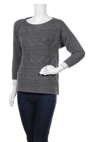 Дамски пуловер Banana Republic, Размер M, Цвят Сив, 55% памук, 20% полиестер, 20% полиамид, 5% ангора, Цена 20,16лв.