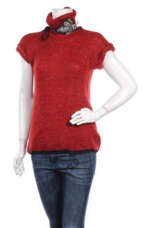 Γυναικείο πουλόβερ Beate Heymann, Μέγεθος M, Χρώμα Κόκκινο, 53% μαλλί, 43% πολυαμίδη, 4% πολυεστέρας, Τιμή 6,91€