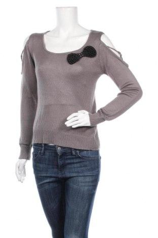 Дамски пуловер Best-Emilie, Размер S, Цвят Сив, 100% полиакрил, Цена 5,78лв.