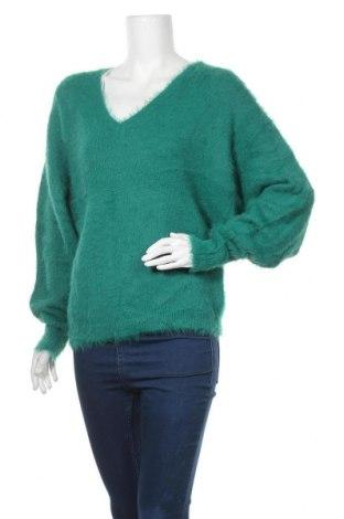 Дамски пуловер Bik Bok, Размер XS, Цвят Зелен, 70% полиамид, 30% акрил, Цена 29,40лв.