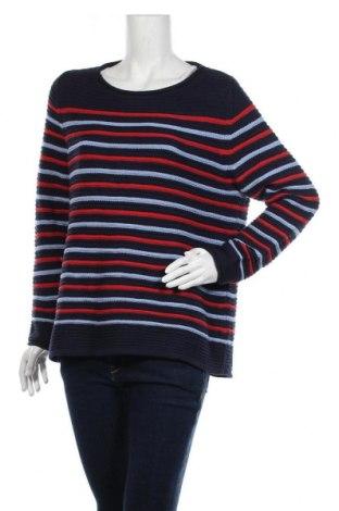 Дамски пуловер Blue Motion, Размер L, Цвят Син, 60% памук, 40% полиакрил, Цена 10,92лв.