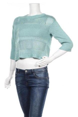 Γυναικείο πουλόβερ Bon'a Parte, Μέγεθος S, Χρώμα Πράσινο, Ακρυλικό, Τιμή 6,67€