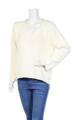 Γυναικείο πουλόβερ Bon'a Parte, Μέγεθος XL, Χρώμα Εκρού, Βαμβάκι, Τιμή 16,05€
