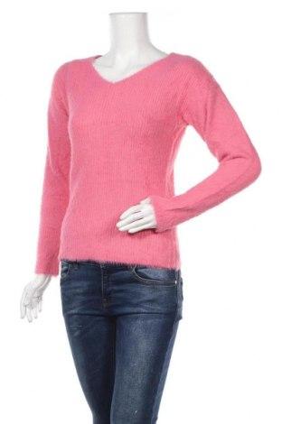 Γυναικείο πουλόβερ Breal, Μέγεθος M, Χρώμα Ρόζ , 73% πολυαμίδη, 27%ακρυλικό, Τιμή 24,06€