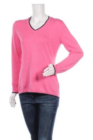 Γυναικείο πουλόβερ Brooks Brothers, Μέγεθος M, Χρώμα Ρόζ , 75% βαμβάκι, 25% κασμίρι, Τιμή 24,73€