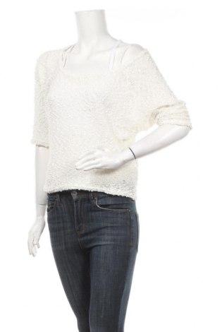 Дамски пуловер Cache Cache, Размер M, Цвят Бял, Цена 5,04лв.