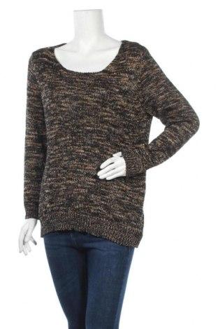 Дамски пуловер Canda, Размер L, Цвят Многоцветен, 54% акрил, 42% полиестер, 4% метални нишки, Цена 7,88лв.