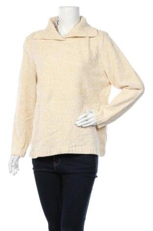 Дамски пуловер Canda, Размер XL, Цвят Бежов, 83% акрил, 17% памук, Цена 6,83лв.
