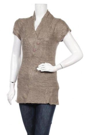 Дамски пуловер Candy Couture, Размер L, Цвят Бежов, Акрил, Цена 6,30лв.