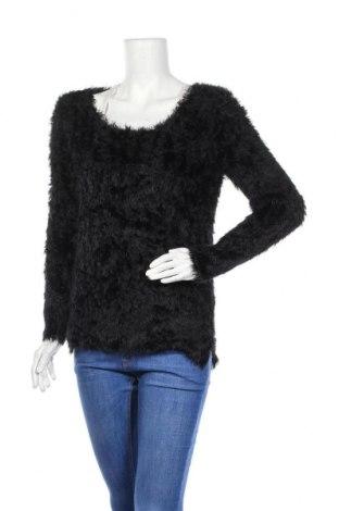 Дамски пуловер Carla F., Размер L, Цвят Черен, 100% полиамид, Цена 24,15лв.