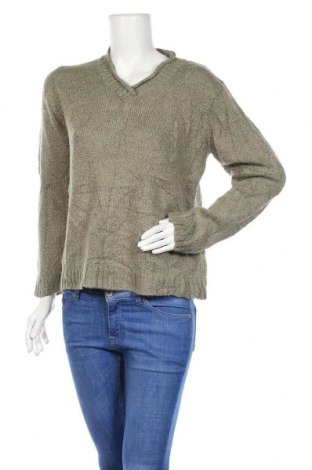 Дамски пуловер Carolyn Taylor, Размер S, Цвят Зелен, Акрил, Цена 5,78лв.