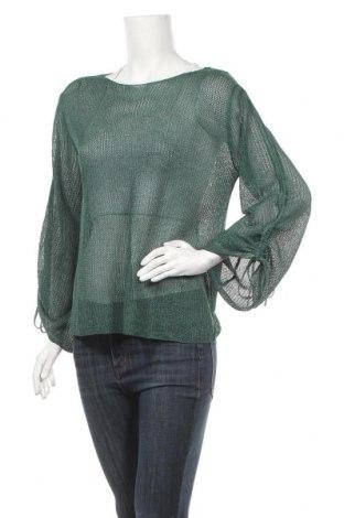 Дамски пуловер Cartoon, Размер M, Цвят Зелен, 63% полиестер, 37% вискоза, Цена 9,56лв.
